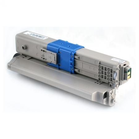 Заправка жёлтого картриджа 44469714 для OKI C310 / C330 / C331 / MC351 / MC352 / MC361 / MC362dn / C510 / C511 / C530 / C531 / MC561 / MC562
