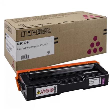 Заправка картриджа Ricoh TYPE SPC252E (407533) с заменой чипа для Ricoh SPC262DNw / SPC262SFNw Ricoh Aficio SPC252dn (пурпурный)