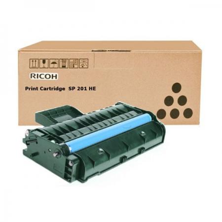 Заправка картриджа Ricoh SP201HE с заменой чипа